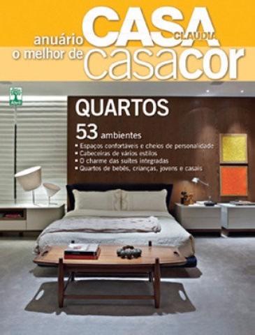 Anuário O Melhor De Casa Cor Quartos 2012 Lacrado