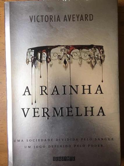 Livro A Rainha Vermelha. De Victoria Aveyard