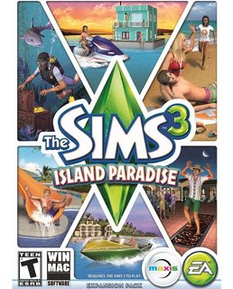 Sims 3 Island Paradise Pc - Origin Key - Entrega Inmediata