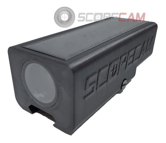 Suporte Scopecam Runcam Sniper Paintball Com Tampa