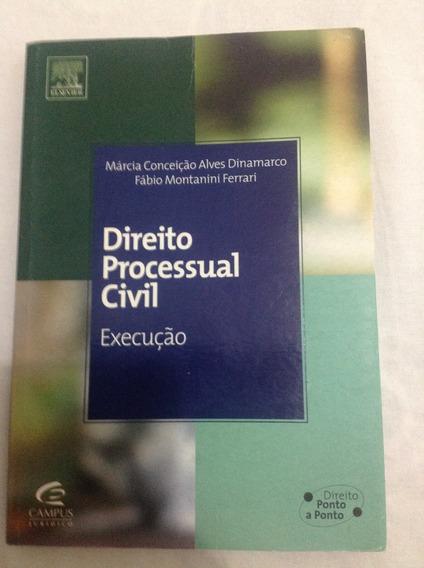 Livro - Direito Processual Civil - Execução