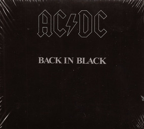 Cd Ac/dc - Back In Black (original E Lacrado)