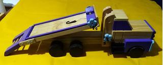 Camion Axilio Tipo Plancha Artesanal Durgalif