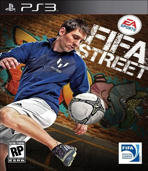 Fifa Street Ps3 Mídia Digital Via Pendrive