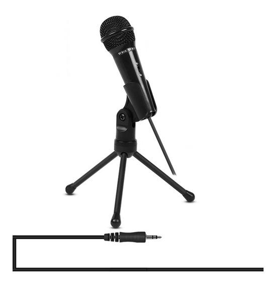 Microfone De Gravação Yanmai Com Suporte TriPod