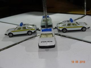 Corgi Rover 3500 Police B109