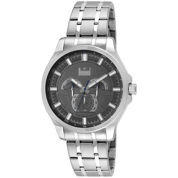 Relógio Dumont Masculino Multifunção Moderno Du6p29abu/3c