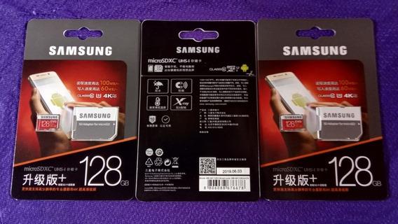 Cartão Memória Samsung Evo Plus 128gb Frete Grátis Via C. R.