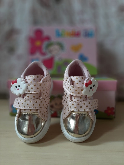 Tênis Bota Infantil Feminino Fashion