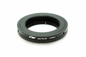 Anel Adaptador Lente T-mount Telescópio P Câmeras Canon Eos