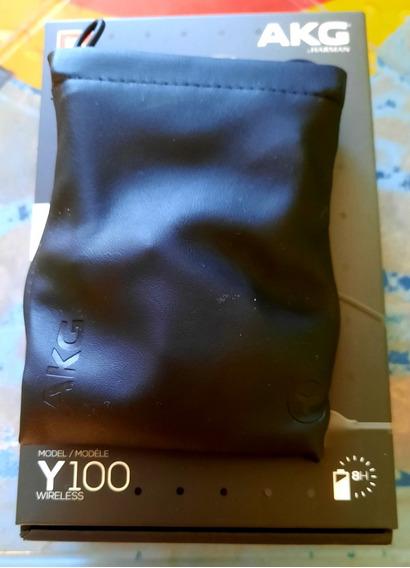 Fone De Ouvido Bluetooth Akg Y100