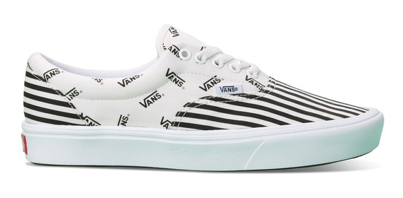 Tenis Vans Comfycush Era Pinned Stripe Yacht Fog Urban Beach