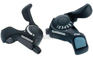 Shifters Bicicleta Shimano Sl-tx30 3x7v Original Boton Corre