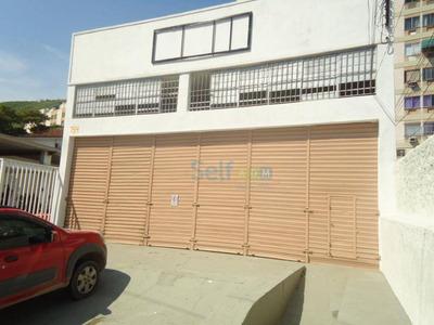 Galpão Para Alugar, 260 M² Por R$ 2.000/mês - Santa Rosa - Niterói/rj - Ga0001