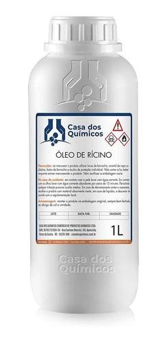 Óleo De Rícino - Vegetal 100% Puro - 2 Litros