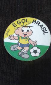 Figurinha De Futebol Turma Da Monica Promocao Brasil Nestle