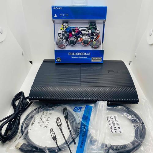 Ps3 Súperslim 250gb +1 Control Original+ 25 Juegos Digitales