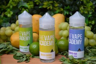 ¡promoción! 3 E-liquid Vape Academy Líquido 120 Ml
