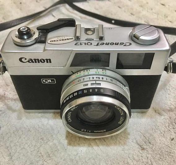 Câmera Canon Canonet Ql 17