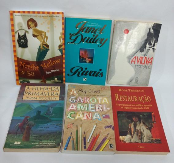 Lote Seis Livros Grandes Autoras Da Lingua Inglesa Usados