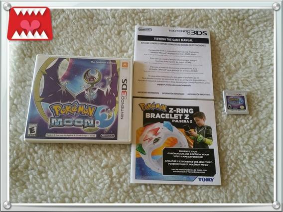 Jogo Pokémon Moon Nintendo 3ds Mídia Física