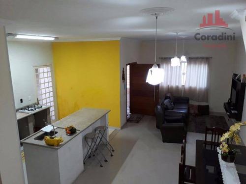 Imagem 1 de 16 de Casa Residencial À Venda, Jardim Santa Rita Ii, Nova Odessa. - Ca1209