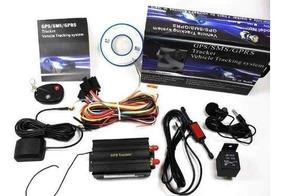 Rastreador Gps Controle Remoto Tk103b Bloqueador Fret/gratis