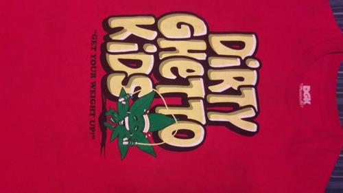 Remera Dgk Dirty Ghetto Kids Skate Original Importada Usada