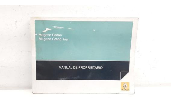 Manual Do Proprietário Nissan Renault Megane Original