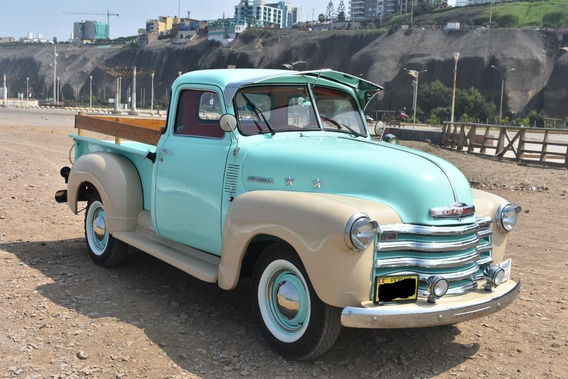 Camioneta Chevrolet Pickup 3100,restaurada En Nuestro Taller