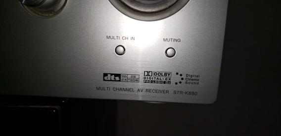 Receiver Sony Str K880 6.1 + Caixas + Subwoofer 1000w Rms