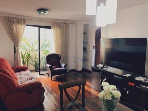 Apartamento À Venda, 100 M² Por R$ 1.150.000,00 - Campo Belo - São Paulo/sp - Ap12104