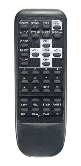 Controle Remoto Universal Para Tv Mitsubishi Antigas De Tubo
