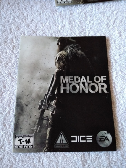 Manual Do Game Medalha De Honra Ps3 *** Leia