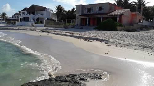 Terreno En Venta Frente Al Mar En Rivera Maya Quintana Roo