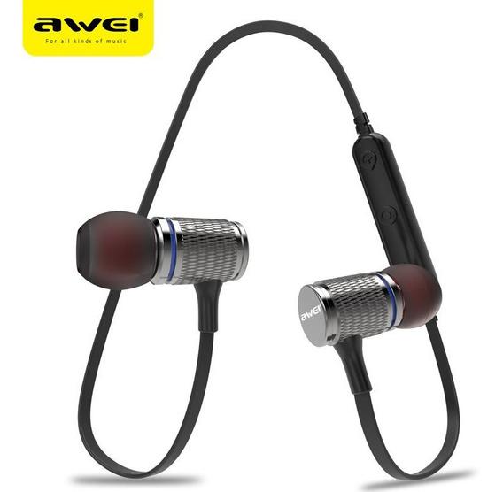 Fone De Ouvido Awei T12 Preto Bluetooth 4.2 Esportivo
