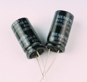 Capacitor Eletrolitico 1000uf 63v Siemens (10 Peças)