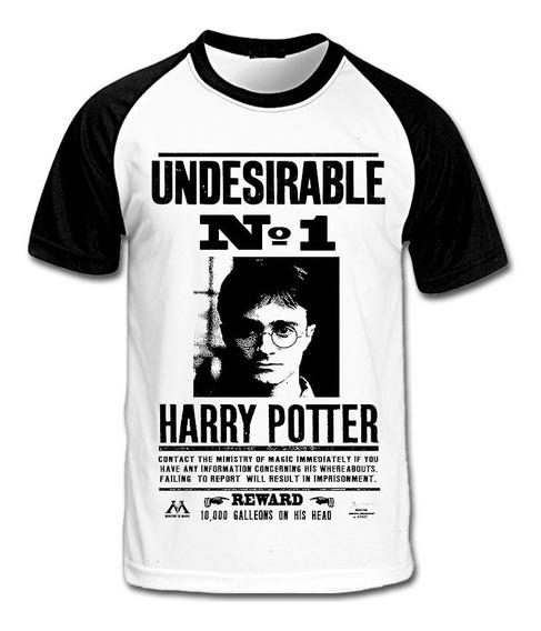 Camiseta Harry Potter Undesirable No 1