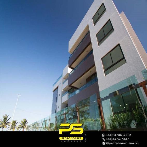 Apartamento Com 3 Dormitórios À Venda, 113 M² Por R$ 753.301 - Intermares - Cabedelo/pb - Ap3097