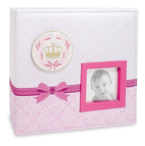 Album Foto Bebe Minha Princesa 100 Ftos 10x15 +50 Ftos 15x21