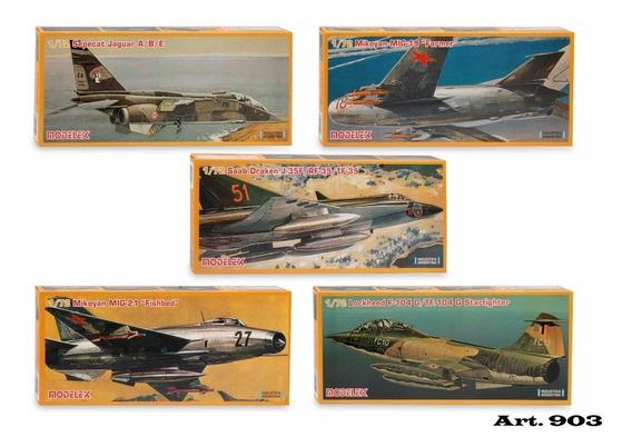Kit Aviones 1/72 Serie 3 Lockheed/ Saab/ Mikoyan