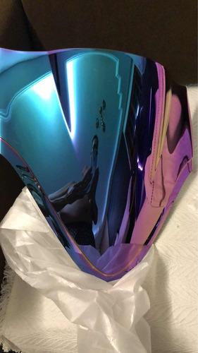 Imagem 1 de 3 de Bolha Para-brisa Para Moto Hayabusa Ano 1999 Até 2019