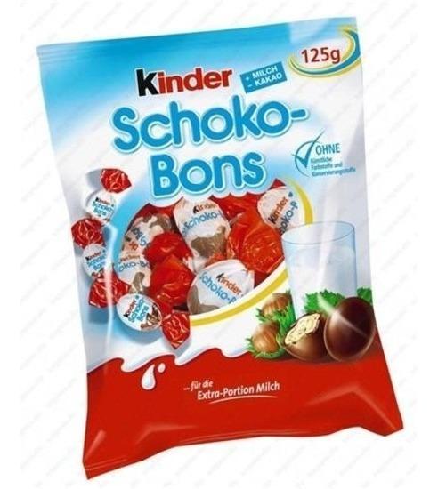 Chocolate Kinder Schokobons 125g