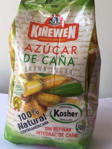 Pack 5 Kilos De Azucar Integral De Caña Sin 100% Natural