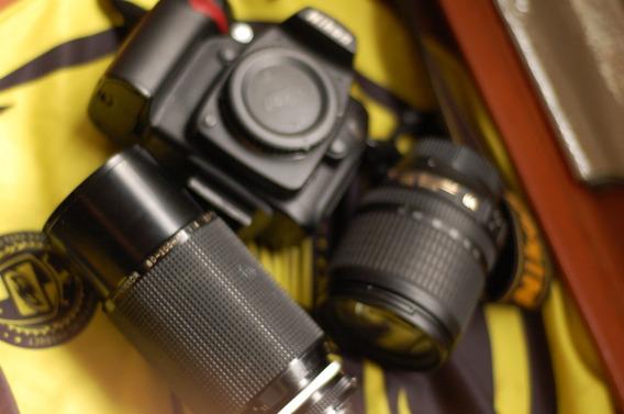Nikon D90 + 2 Lente 34258 Clicks