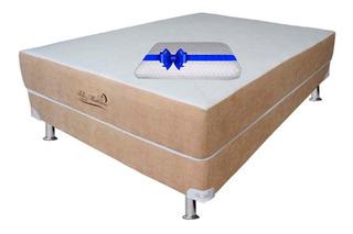 Colchon Con Box Bio Mattress Queen Size Memory Foam Roma