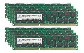 Adamanta 64gb (8x8gb) Actualización De Memoria De Servidor P