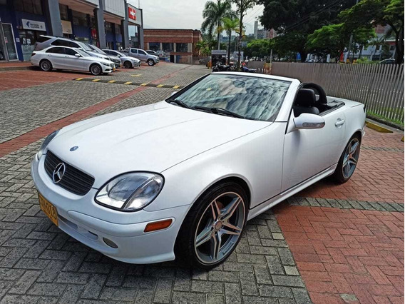 Mercedes-benz Slk 320 Roadster 2001 At 3.2