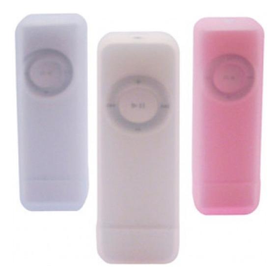 3 Capas De Silicone Para iPod Shuffle