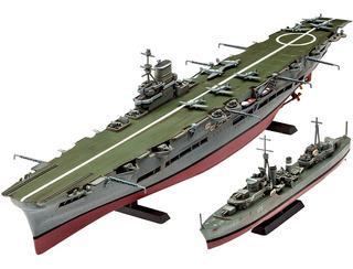 Kit De Construcción Revell Alemania Hms Ark Royal & Tribal D